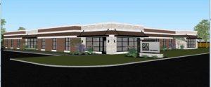 Brenham office rendering