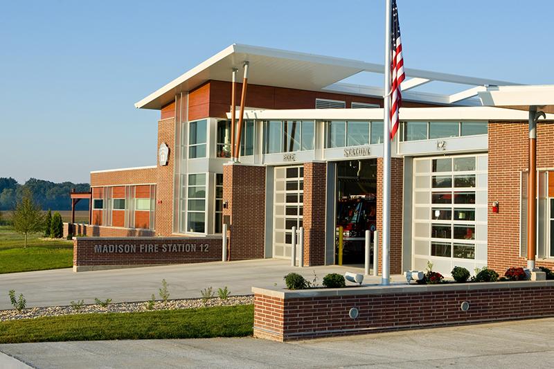 Leed Platinum Fire Station No 12 Madison Wi Strand