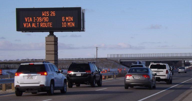 Digital highway signage