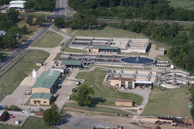 Wastewater Treatment Plant Improvements City Of Brenham