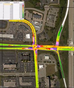 traffic heat map